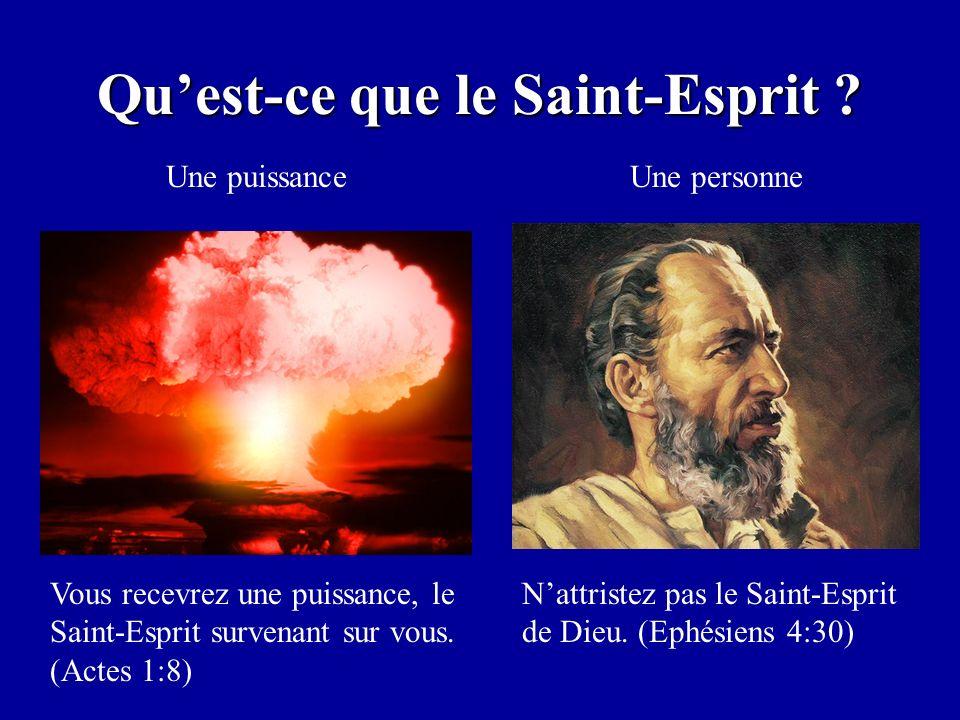 Qu'est-ce que le Saint-Esprit