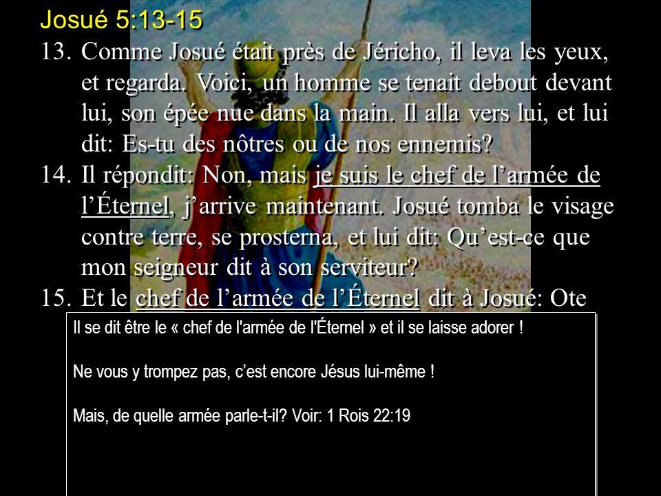 Josué 5:13-15