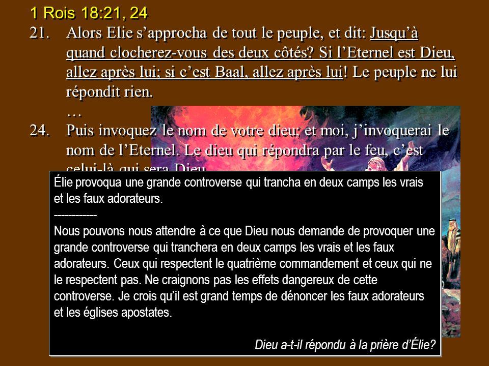 1 Rois 18:21, 24