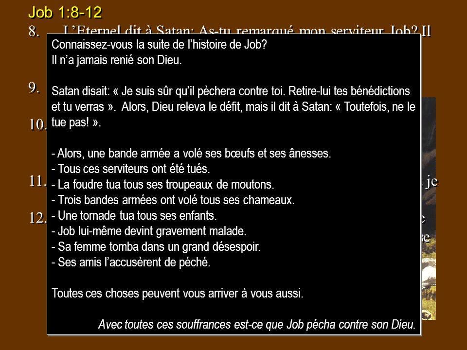 Job 1:8-12