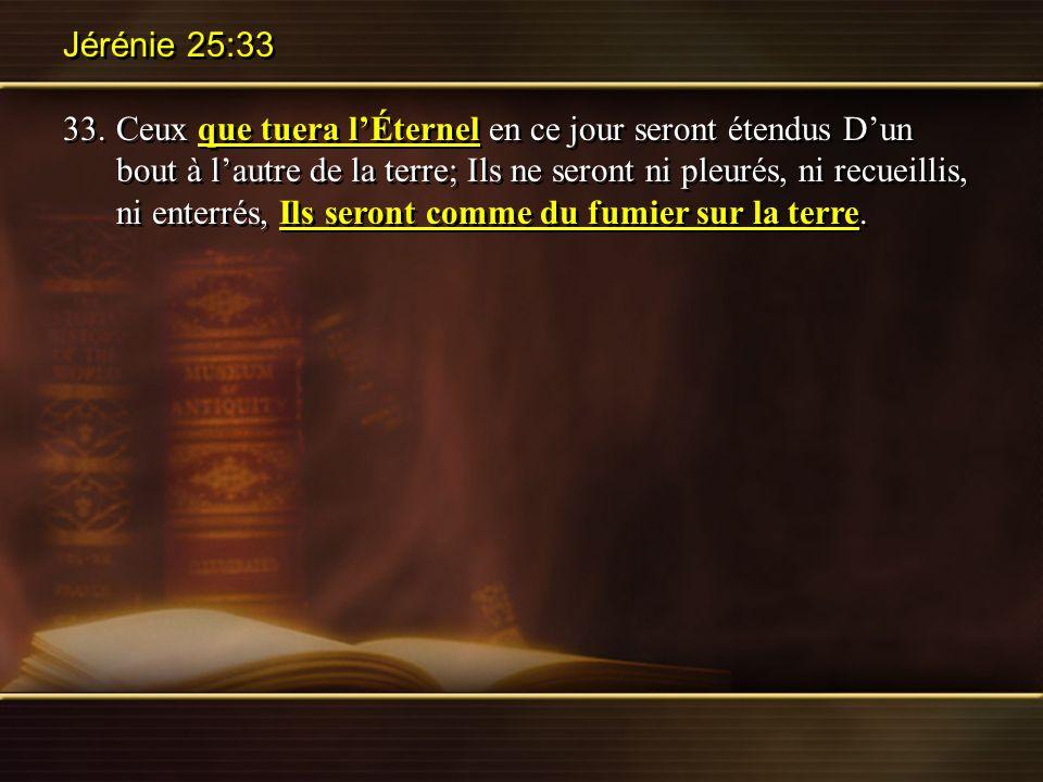 Jérénie 25:33