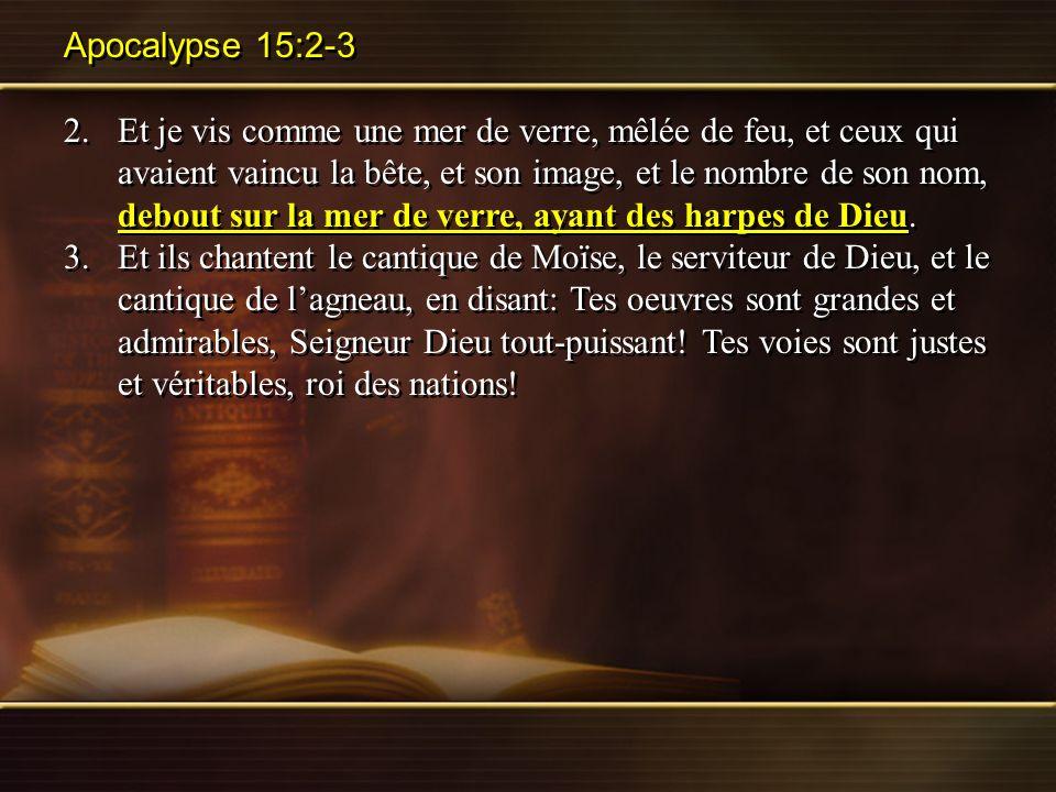 Apocalypse 15:2-3