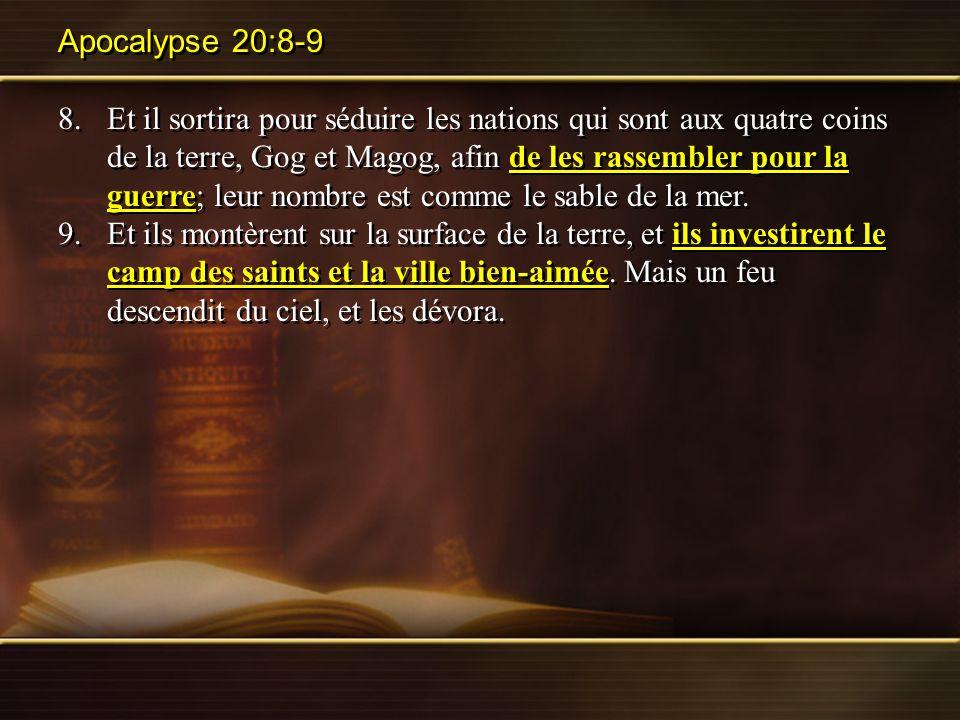 Apocalypse 20:8-9