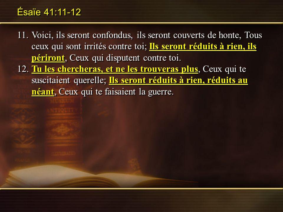 Ésaïe 41:11-12
