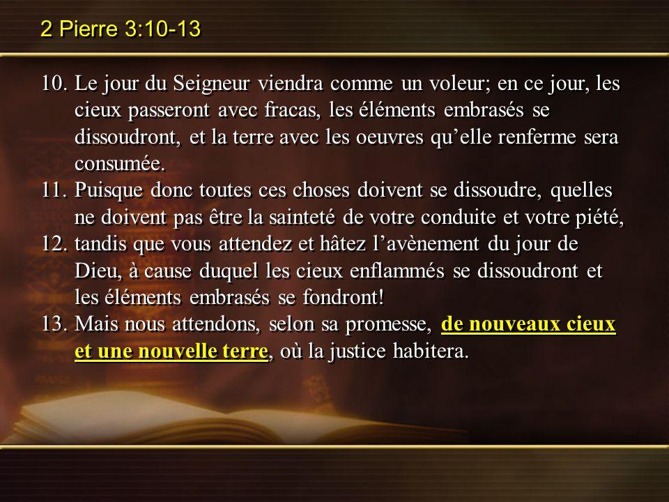 2 Pierre 3:10-13