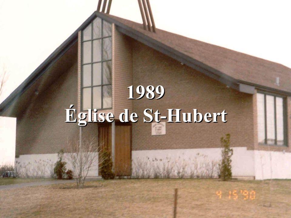 1989 Église de St-Hubert