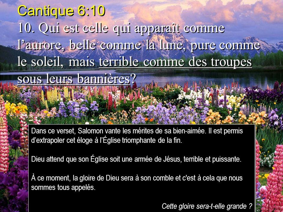 Cantique 6:10