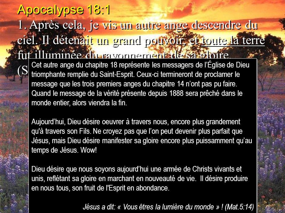 Apocalypse 18:1