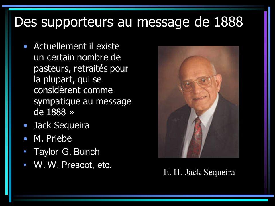Des supporteurs au message de 1888