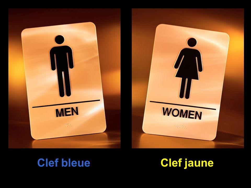 Clef bleue Clef jaune 45
