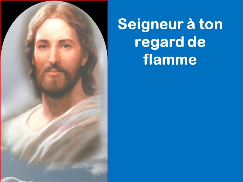 Seigneur à ton regard de flamme