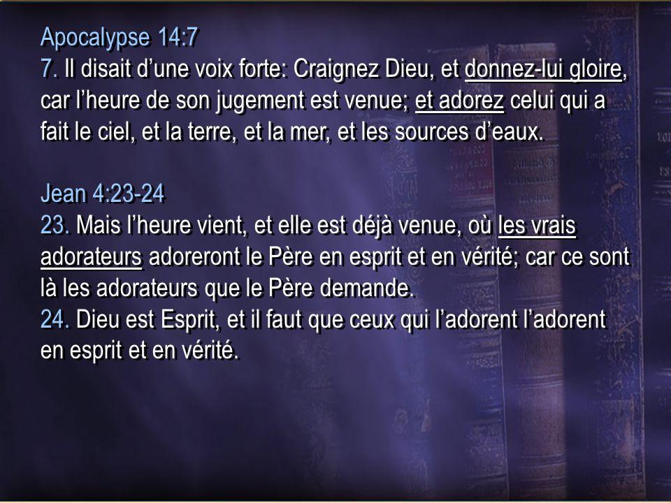 Apocalypse 14:7