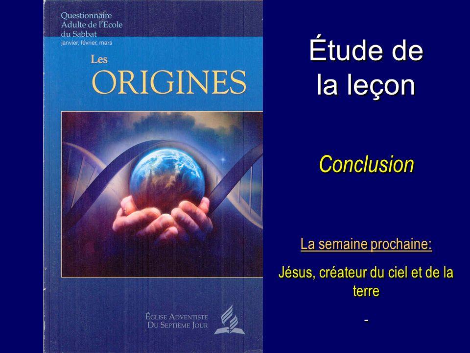 Jésus, créateur du ciel et de la terre