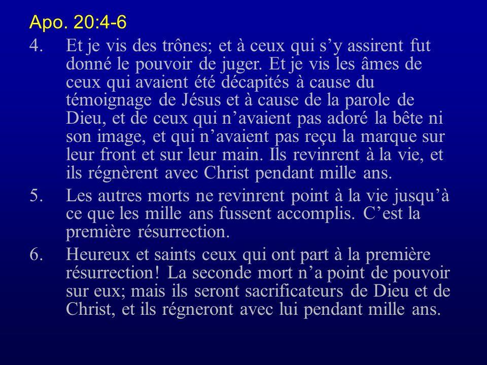 Apo. 20:4-6