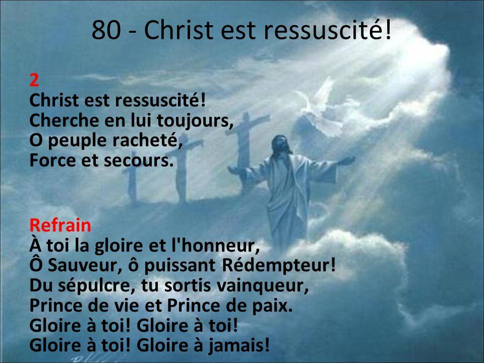 80 - Christ est ressuscité!