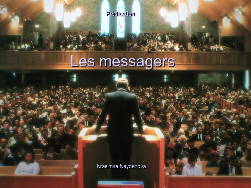 Prédication Les messagers Krasimira Naydenova 24