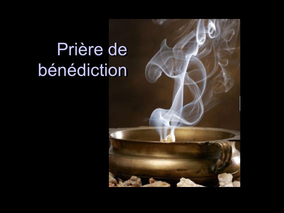 Prière de bénédiction