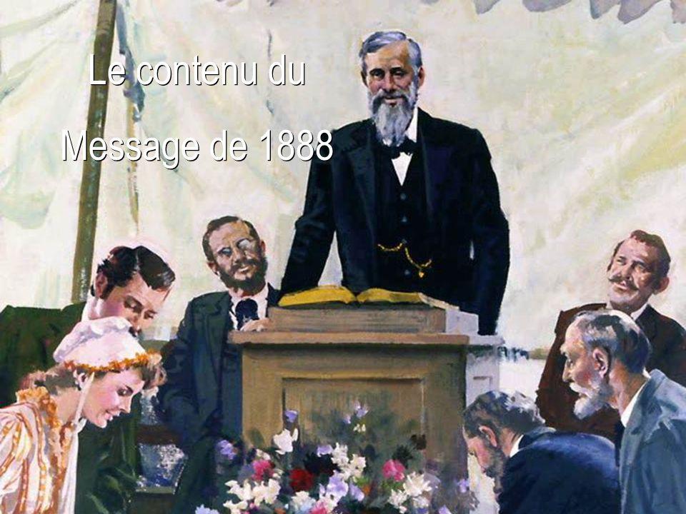 Le contenu du Message de 1888