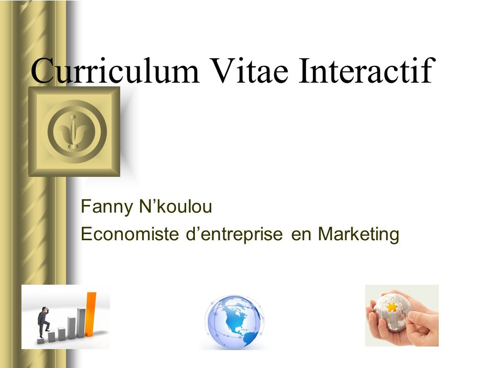 curriculum vitae interactif