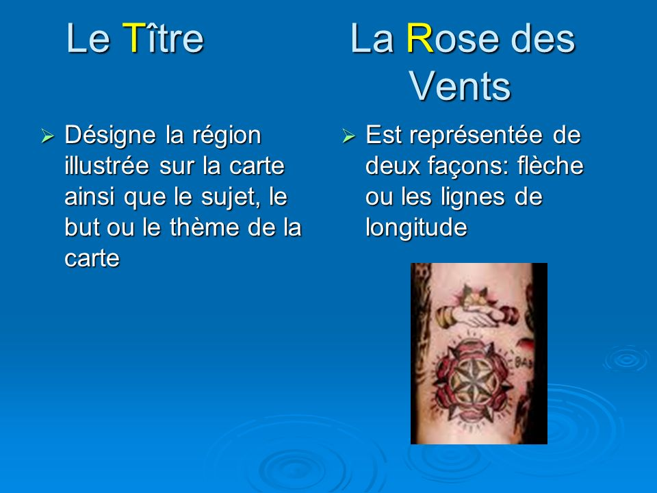 Le Tître La Rose des Vents