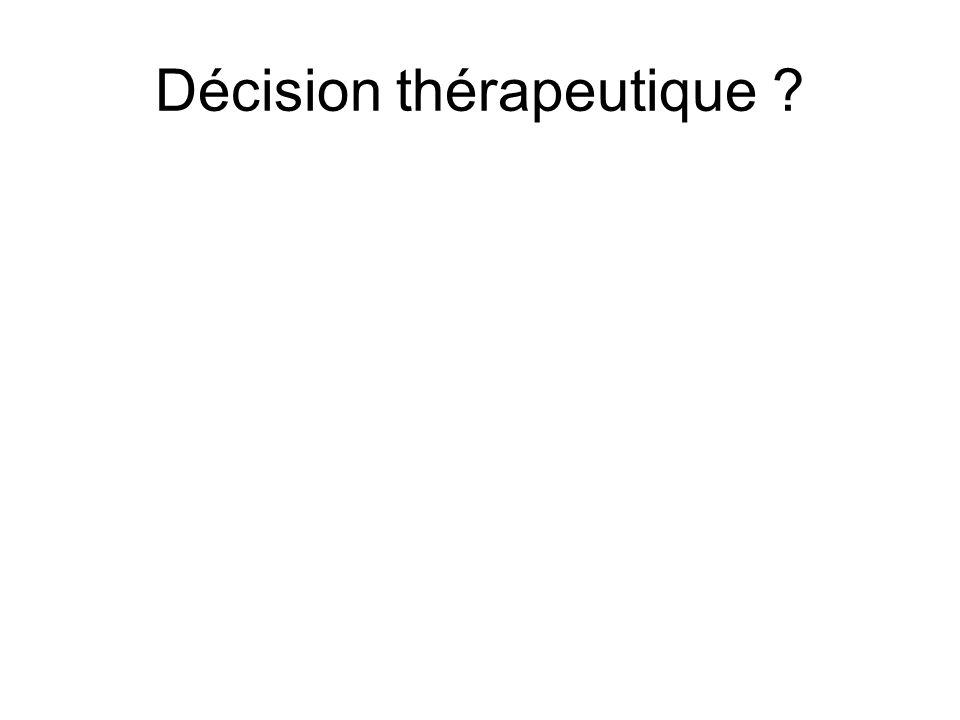 Décision thérapeutique