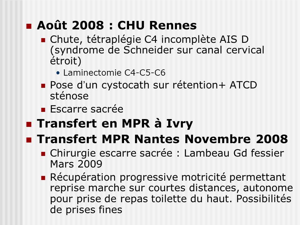 Transfert MPR Nantes Novembre 2008