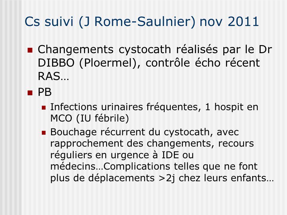 Cs suivi (J Rome-Saulnier) nov 2011