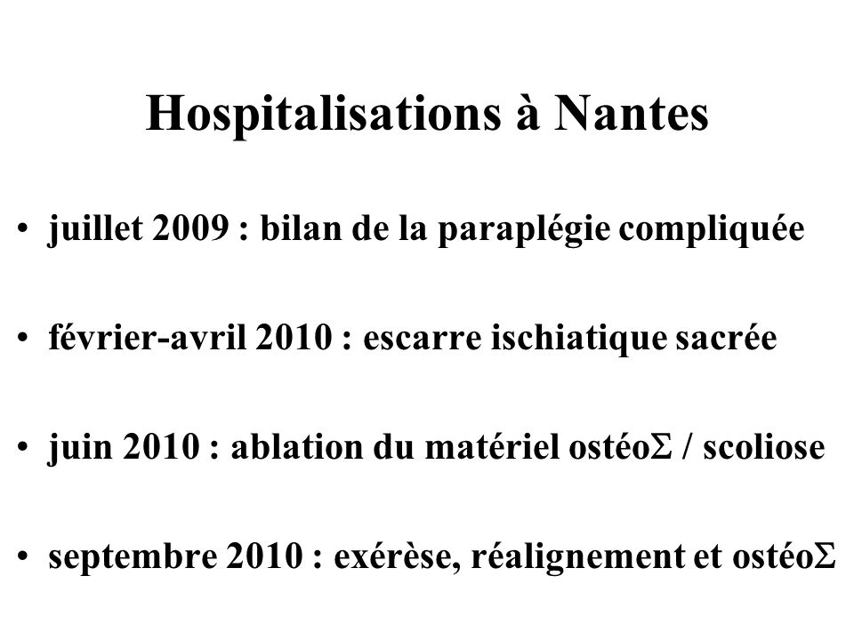 Hospitalisations à Nantes