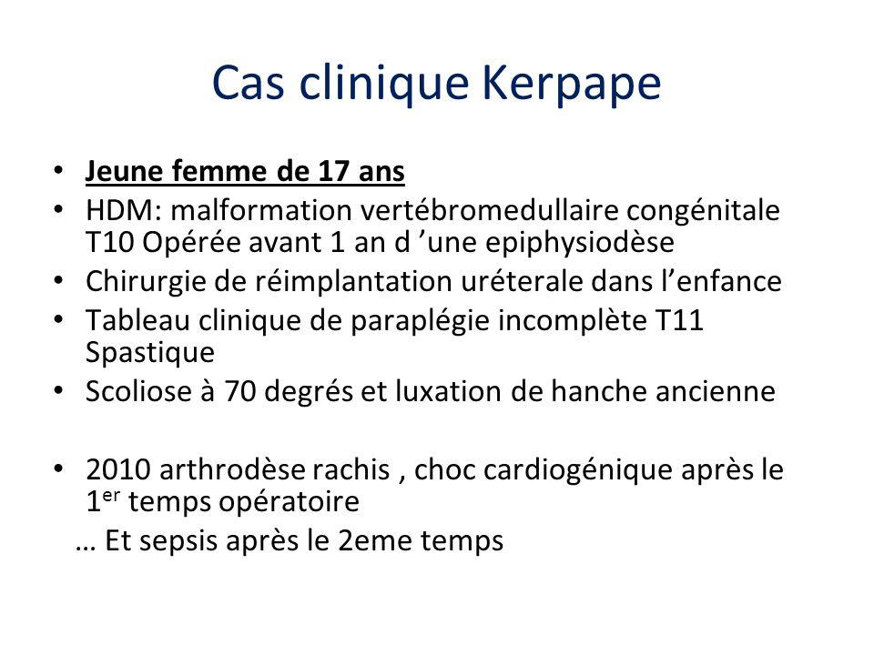 Cas clinique Kerpape Jeune femme de 17 ans