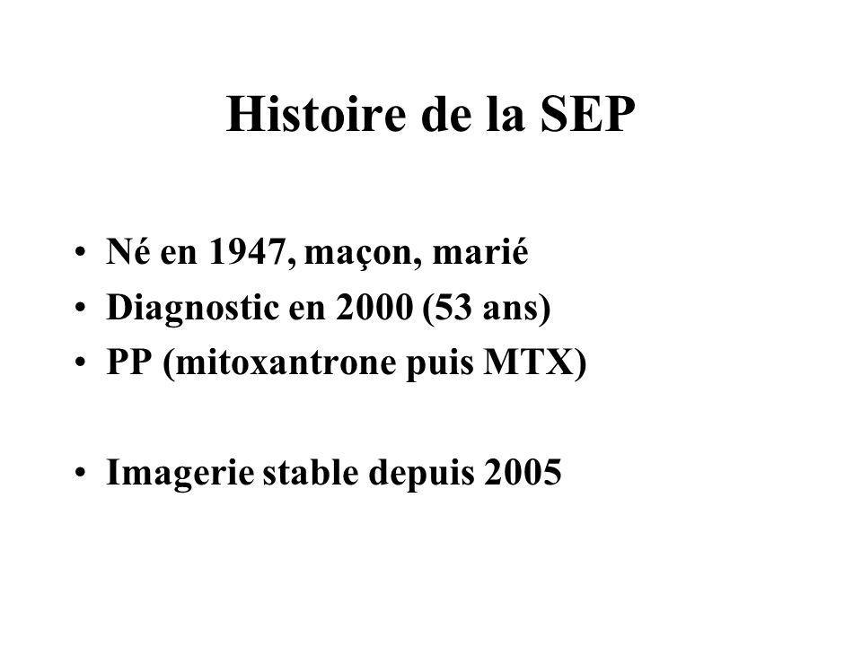 Histoire de la SEP Né en 1947, maçon, marié