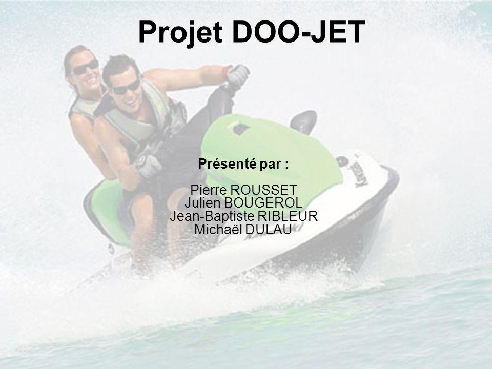 Projet DOO-JET Présenté par : Pierre ROUSSET Julien BOUGEROL Jean-Baptiste RIBLEUR Michaël DULAU