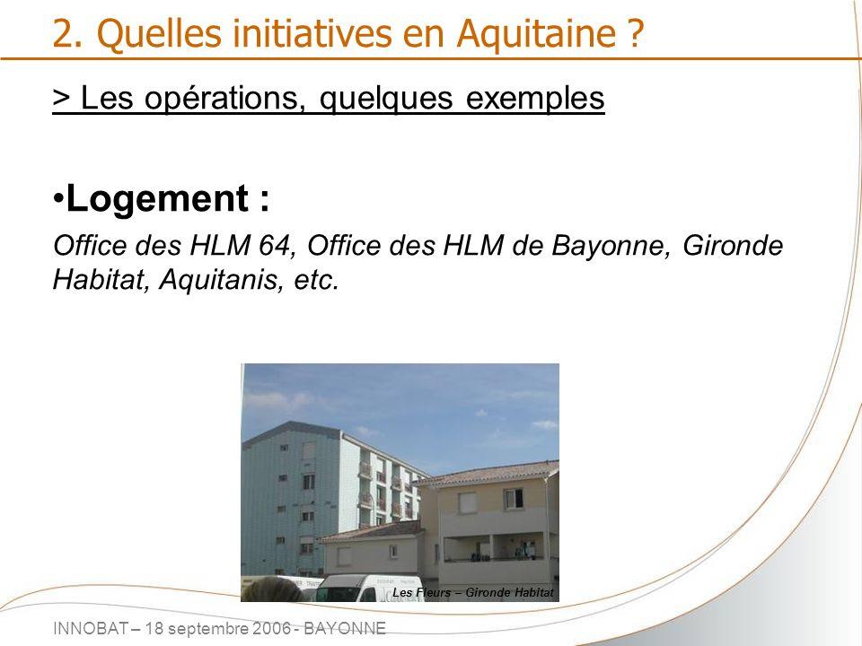 2. Quelles initiatives en Aquitaine
