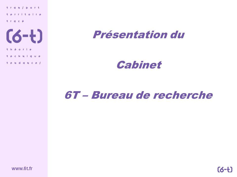 Présentation du Cabinet 6T – Bureau de recherche