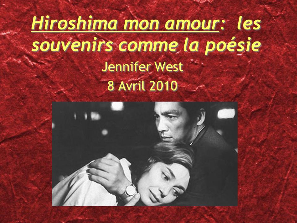 hiroshima mon amour duras pdf