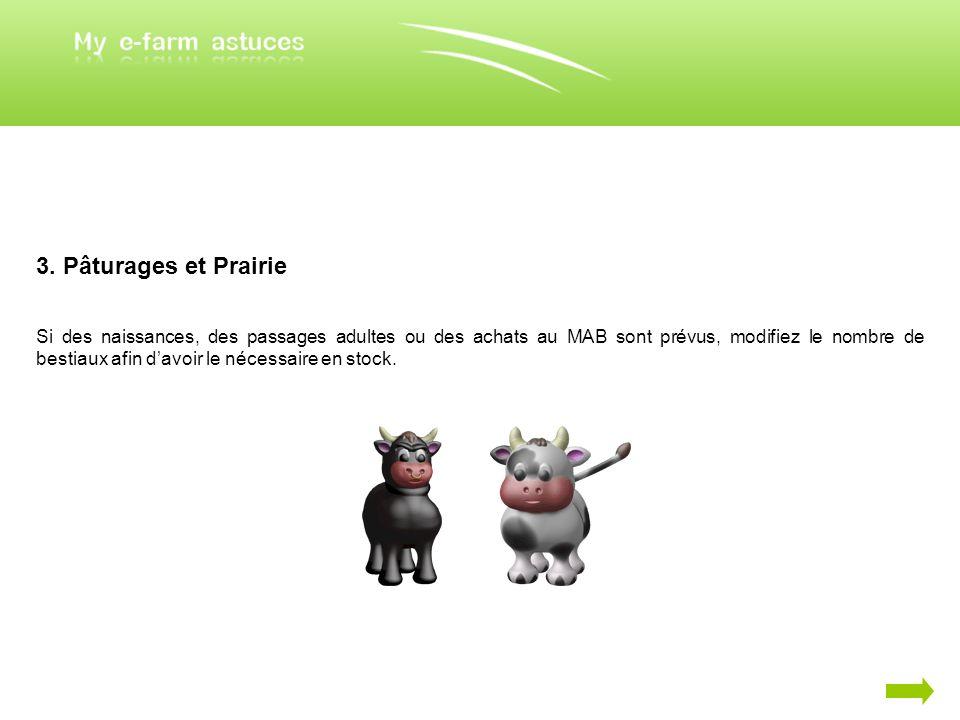 3. Pâturages et Prairie
