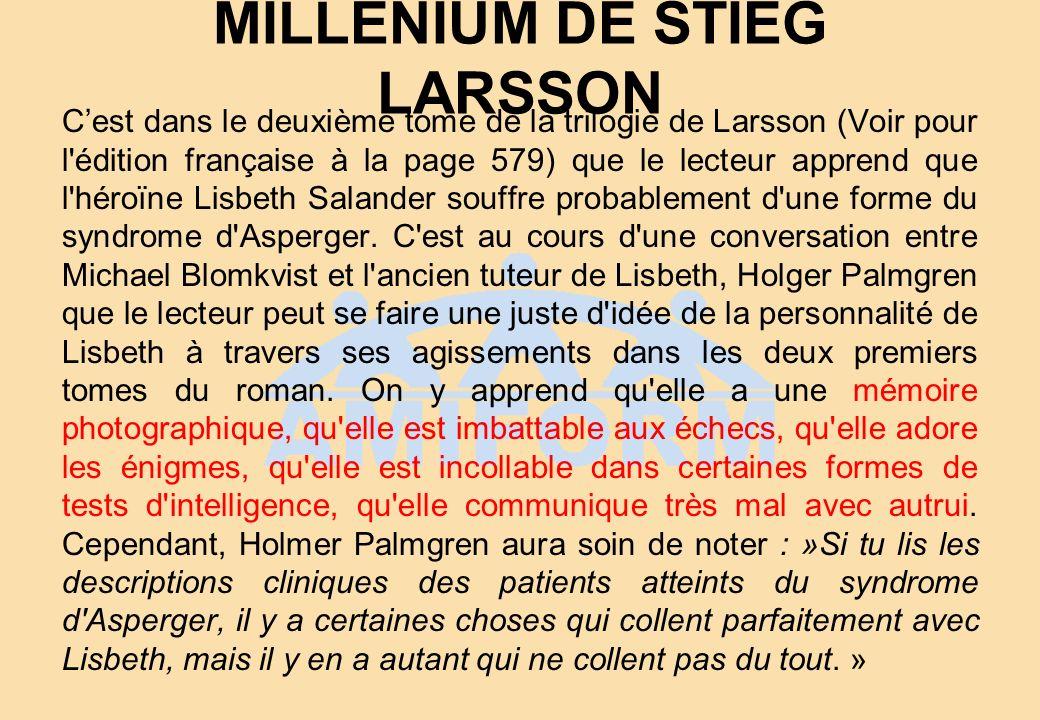 MILLENIUM DE STIEG LARSSON