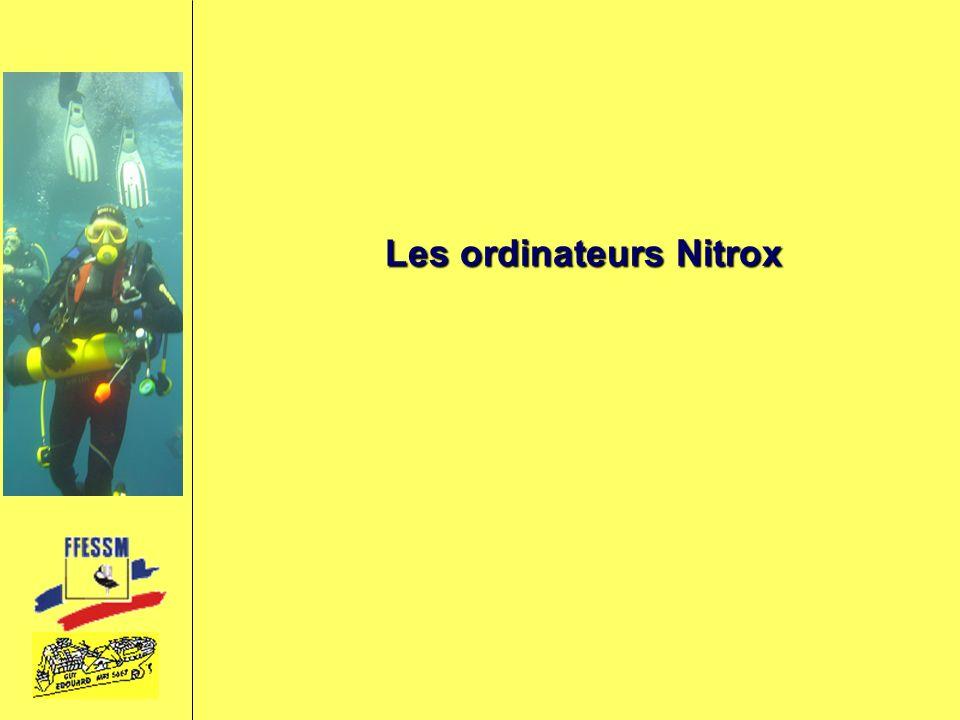 Les ordinateurs Nitrox