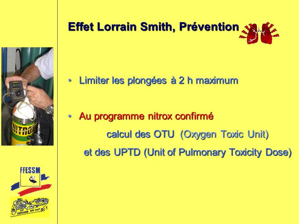 Effet Lorrain Smith, Prévention