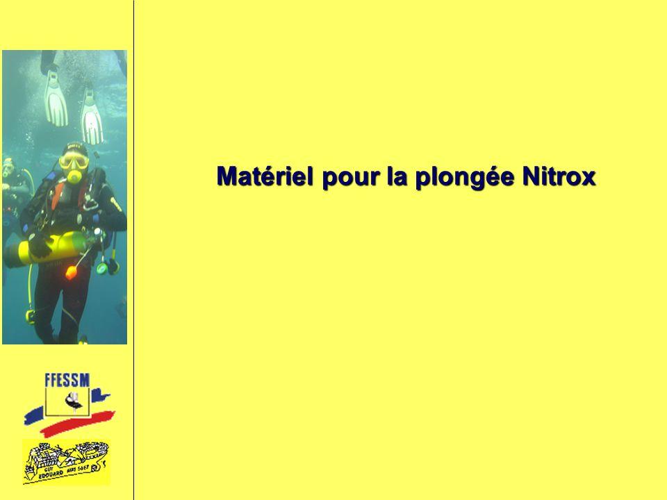 Matériel pour la plongée Nitrox