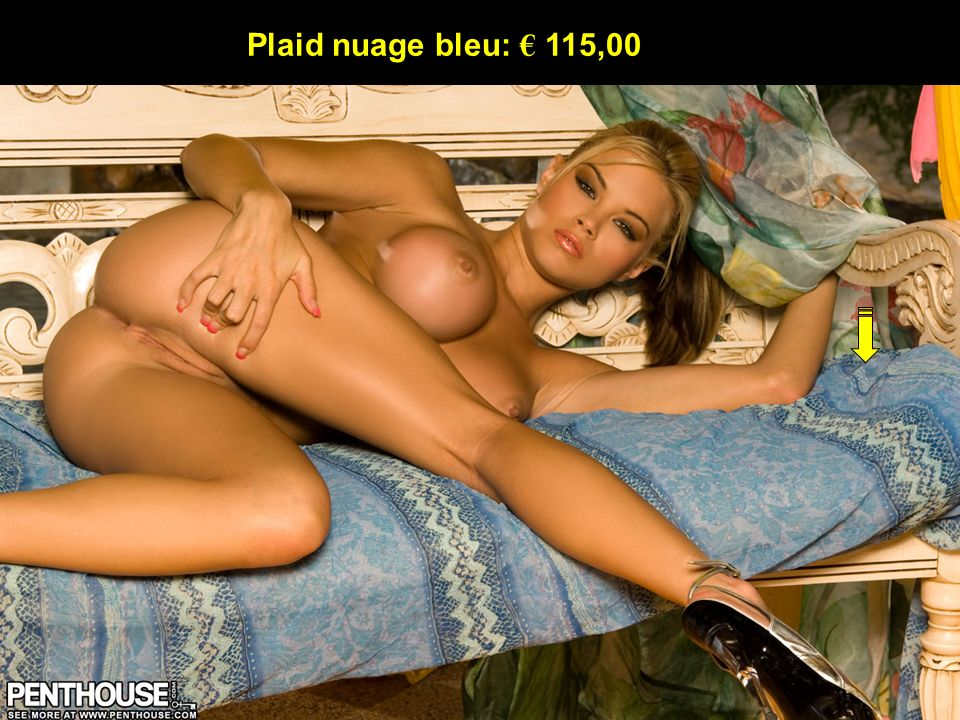 Plaid nuage bleu: € 115,00