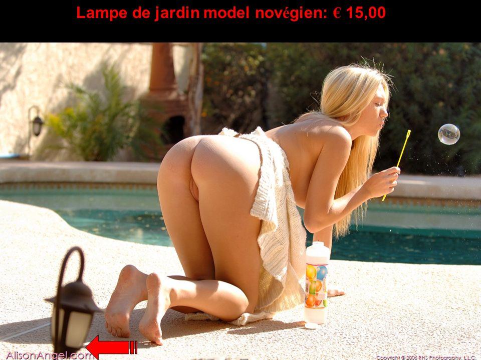 Lampe de jardin model novégien: € 15,00