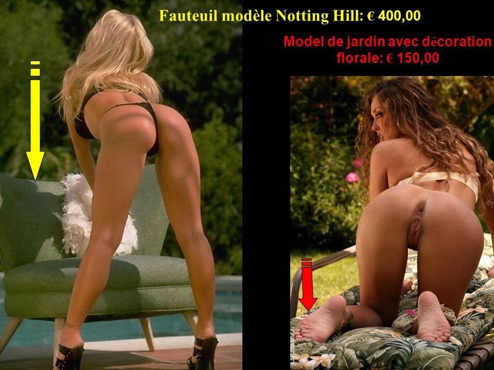 Fauteuil modèle Notting Hill: € 400,00