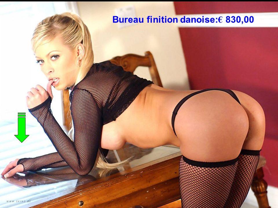 Bureau finition danoise:€ 830,00