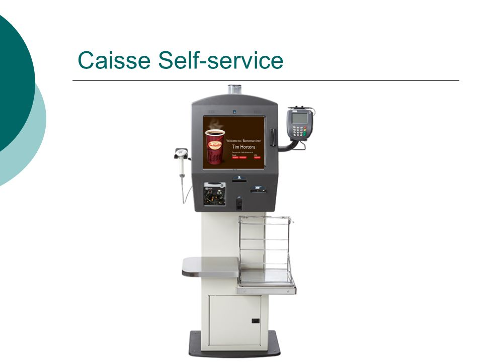 Caisse Self-service
