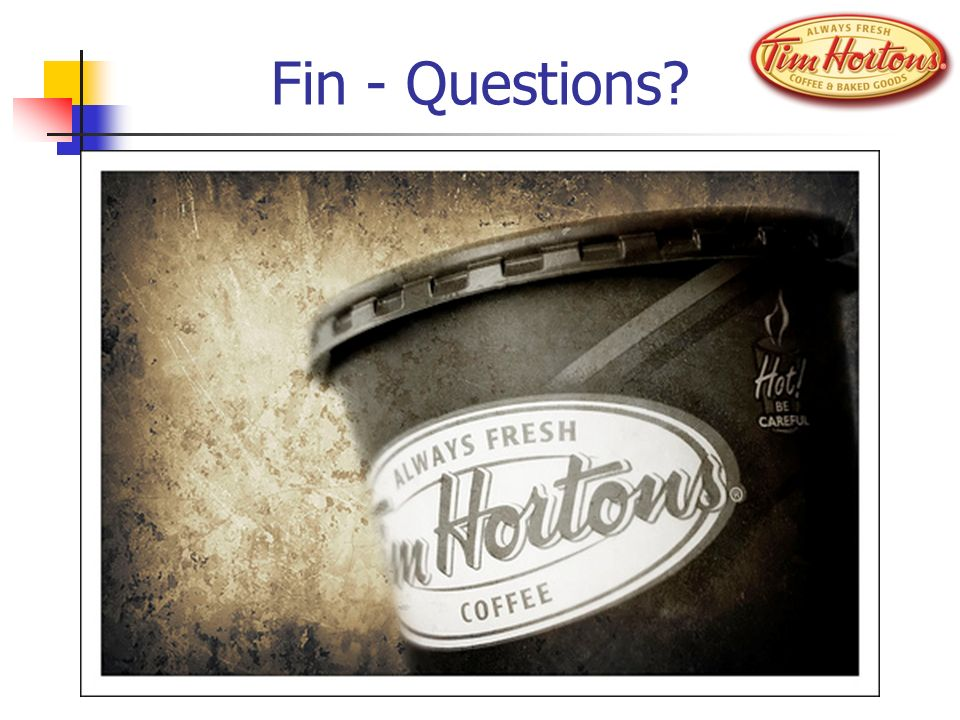 Fin - Questions