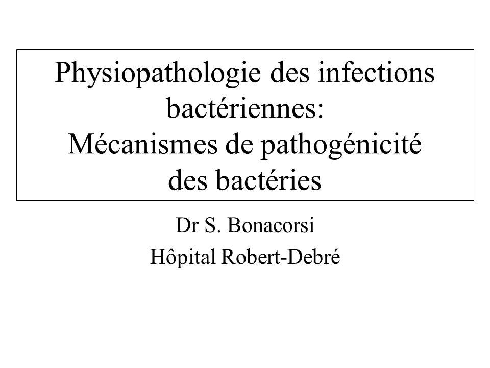 Dr S. Bonacorsi Hôpital Robert-Debré