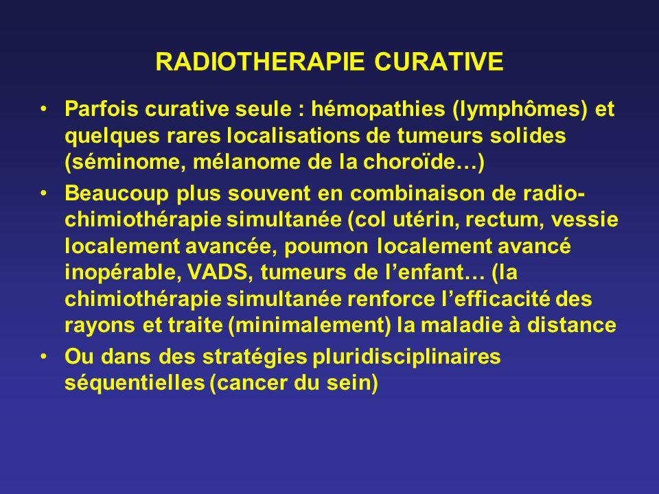 RADIOTHERAPIE CURATIVE