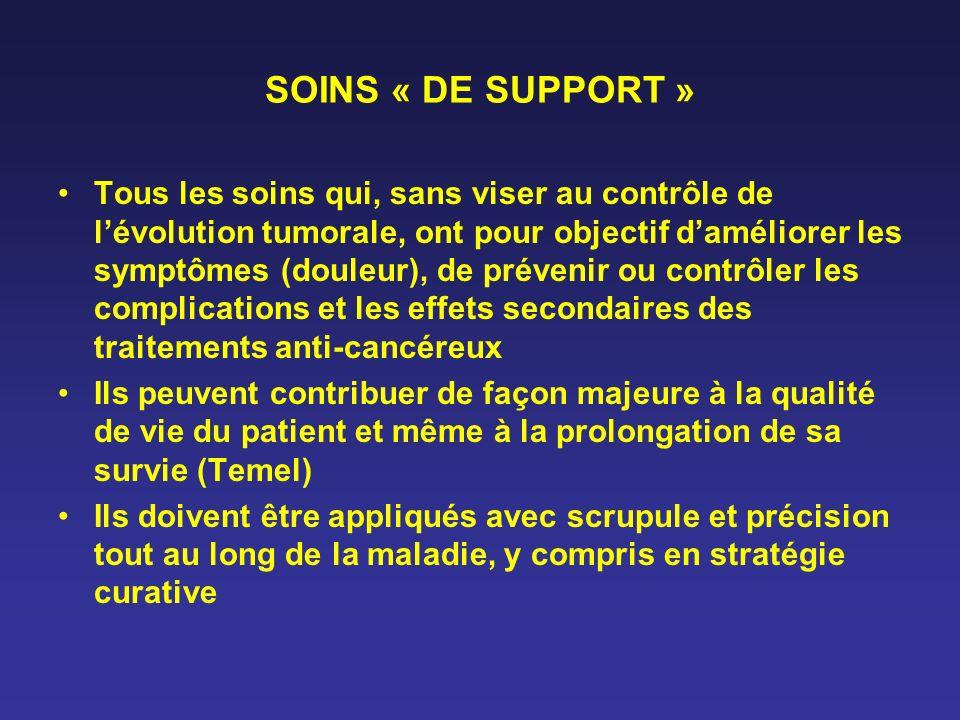 SOINS « DE SUPPORT »