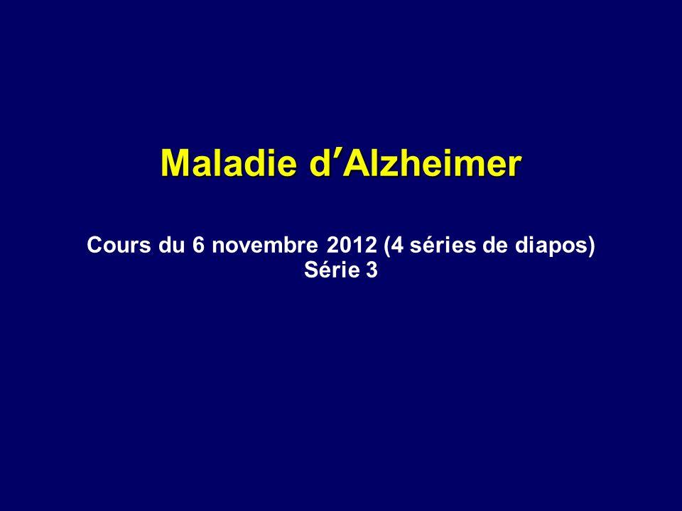 Cours du 6 novembre 2012 (4 séries de diapos)