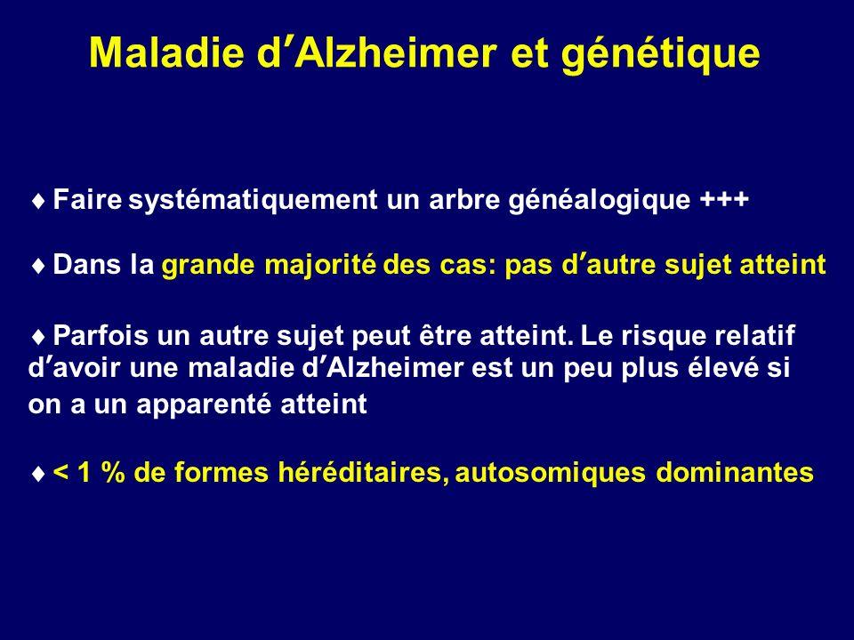 Maladie d'Alzheimer et génétique